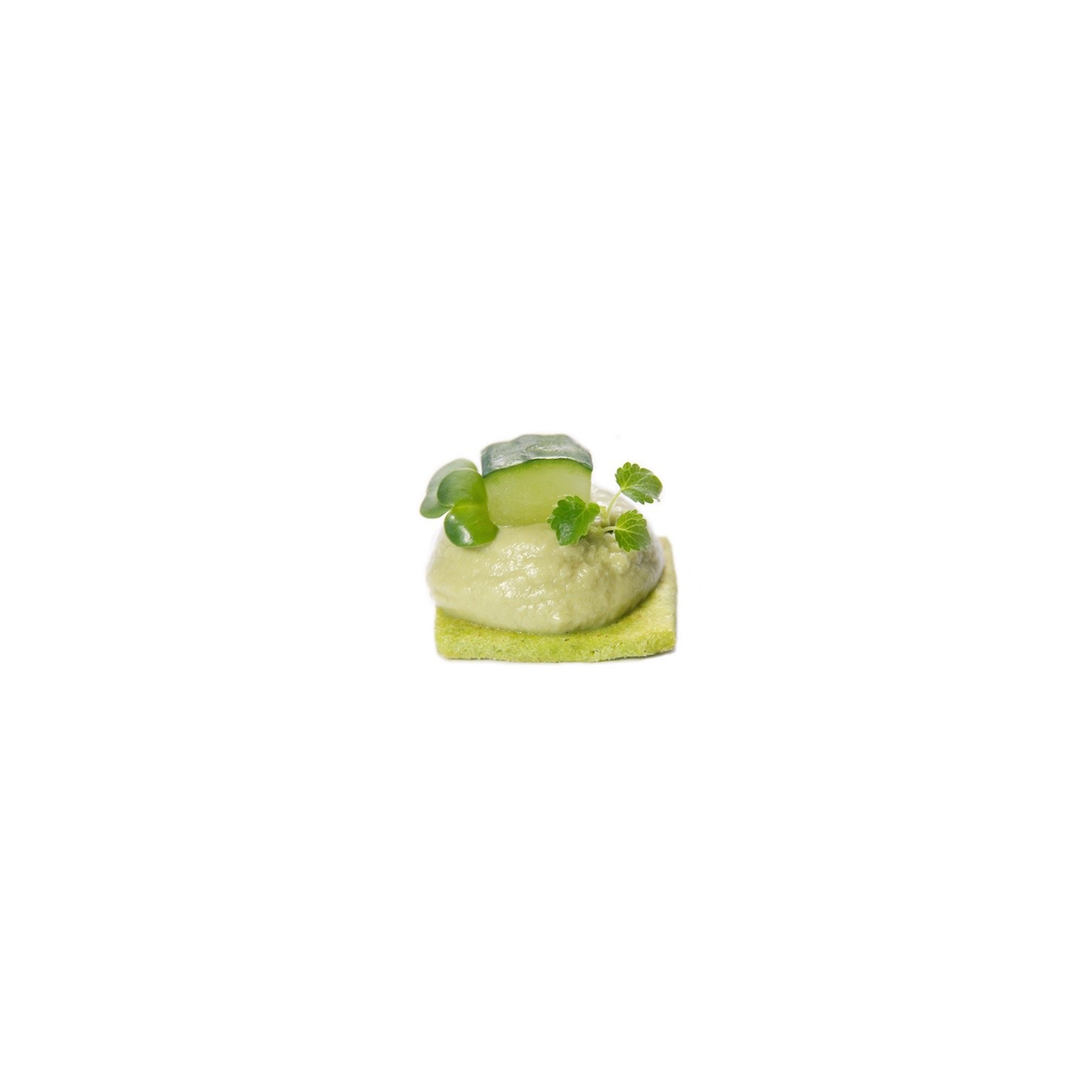 Avocat basilic citron vert